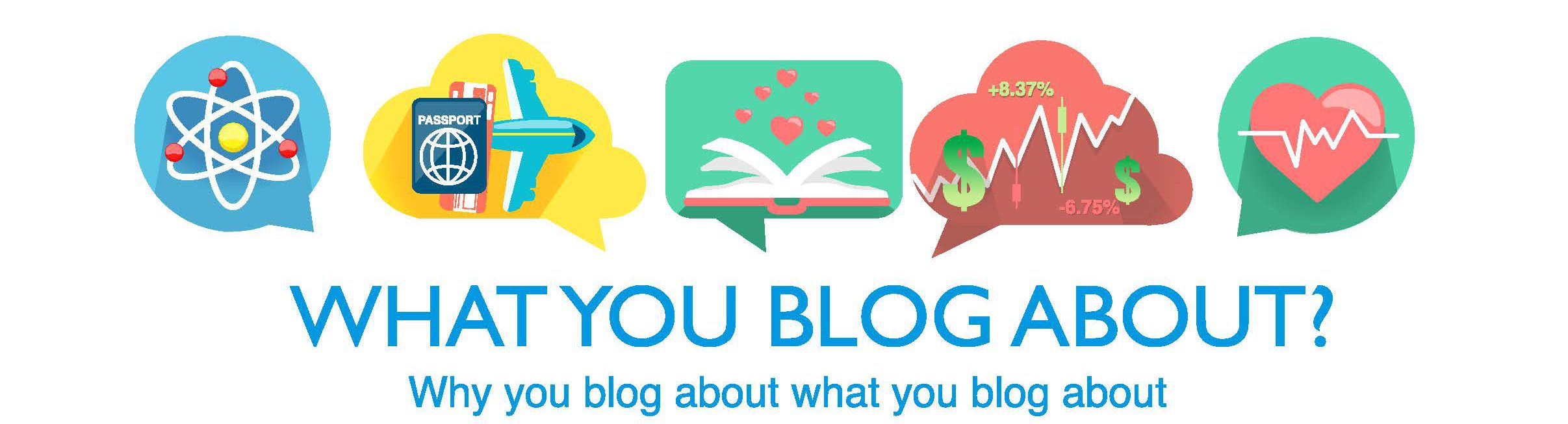 What You Blog About